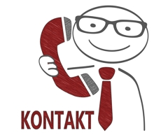 kontakt person caricatur